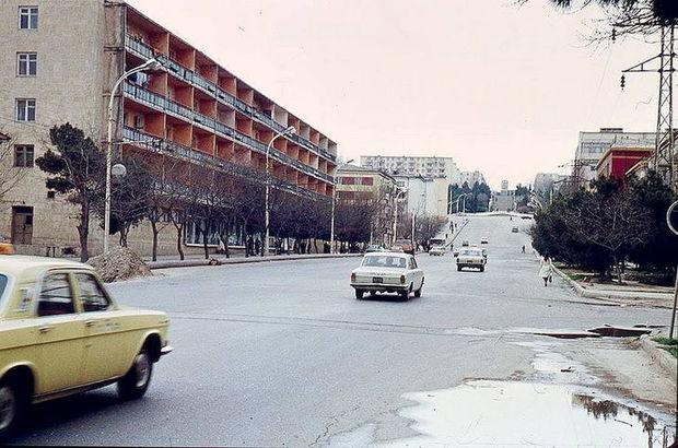 1970-ci illərin sonu – 1980-ci illərin əvvəllərində Bakı – FOTO