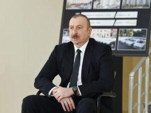 Prezident şəhid ailələri və müharibə əlilləri ilə görüşdü – FOTO
