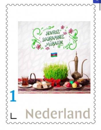 Niderlandda Novruz bayramı və 31 mart azərbaycanlıların soyqırımı ilə bağlı poçt markaları buraxılıb