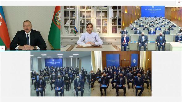 Yeni Azərbaycan Partiyasının VII qurultayı keçirilib – VİDEO