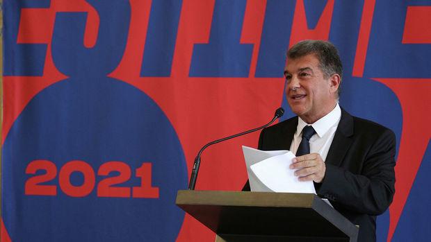 """Laporta yenidən """"Barselona""""nın prezidenti seçildi"""