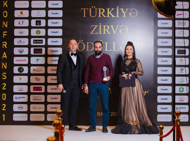 """Elşən Gəncəvi """"Luxury Society"""" layihəsində Mükafata layiq görülüb – FOTOLAR"""