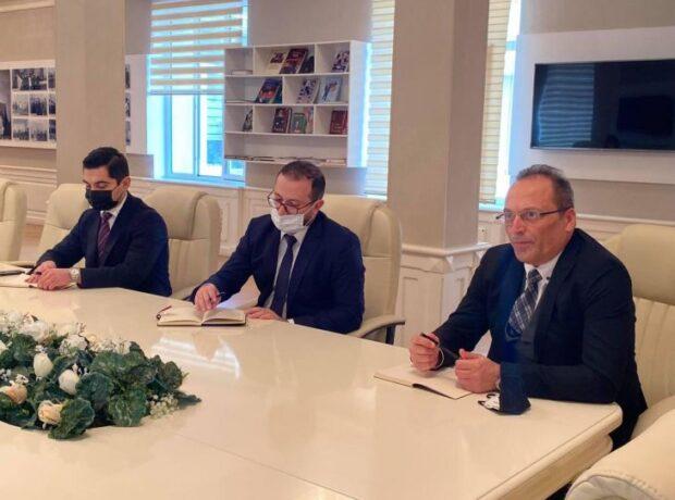 """Azərbaycan Texniki Universiteti ilə """"STP Global Cable"""" MMC-nin rəhbərliyi arasında işgüzar görüş keçirilib"""