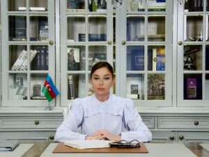 Mehriban Əliyeva YAP sədrinin birinci müavini təyin edildi