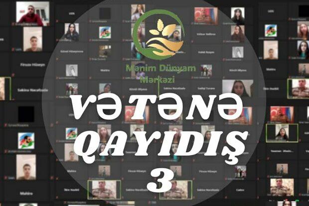 """""""Vətənə qayıdış – 3"""" – Qazilərlə görüş – VİDEO"""