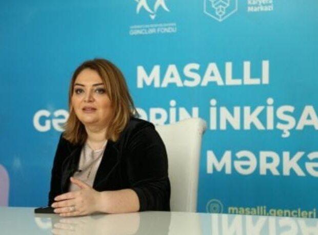 RHİM İB-nin sədri Arzu Bağırova Masallı gəncləri ilə görüşdü – FOTO