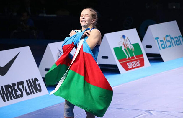 Mariya Stadnik 8-ci dəfə Avropa çempionu oldu