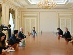 İlham Əliyev BMT Baş Assambleyasının 75-ci sessiyasının prezidentini qəbul etdi