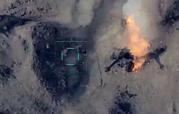 Vətən müharibəsində düşmənin artilleriya qurğularının məhv edilməsinin görüntüləri – VİDEO