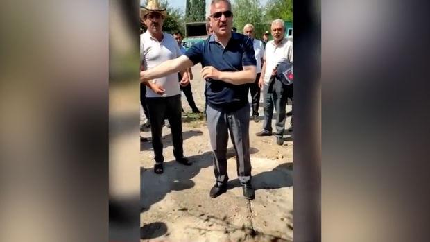 Tərtər icra başçısı ilə vətəndaşlar arasındakı narazılıqla bağlı açıqlama