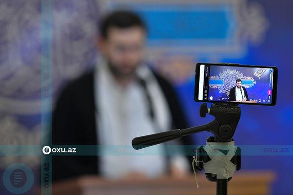 Ramazan ayının ilk Qədr gecəsindən görüntülər – FOTOREPORTAJ
