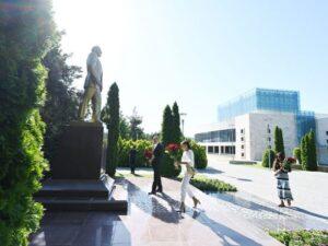 İlham Əliyev və Mehriban Əliyeva Qəbələ rayonuna səfər edib – FOTO/VİDEO