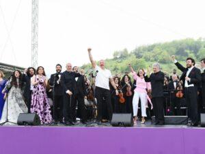 """Şuşada """"Xarıbülbül"""" musiqi festivalının keçirilməsi Zəfər yürüşümüzün təntənəsidir"""