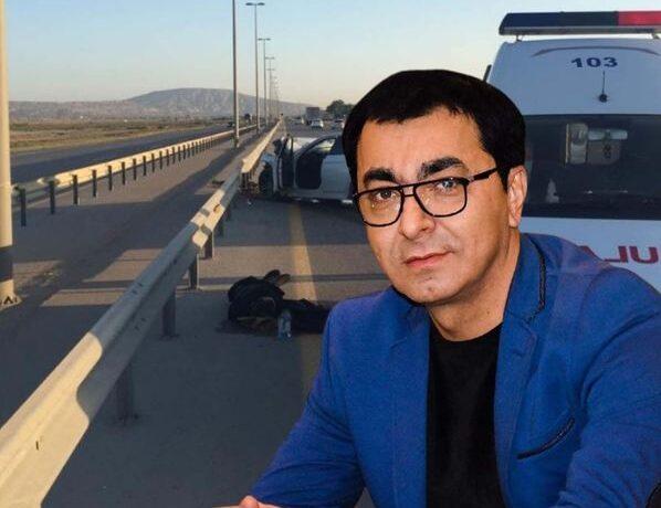 Aslan Hüseynovun öldüyü dəhşətli qəzadan görüntülər – FOTO