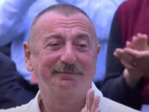 Şuşada atasının səs yazısını eşidən Prezident kövrəldi- Video