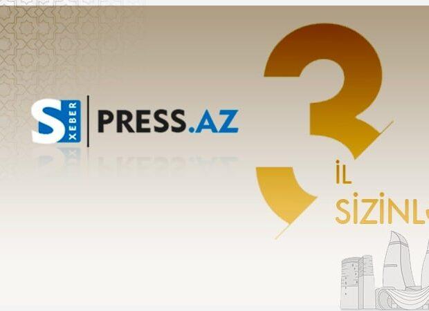 Press.az 3 yaşında