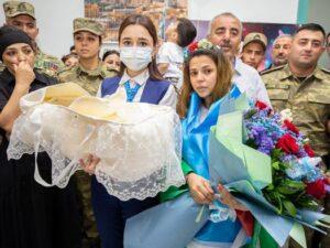 Üç şəhidin yeni doğulan övladına hesab açılacaq – FOTO