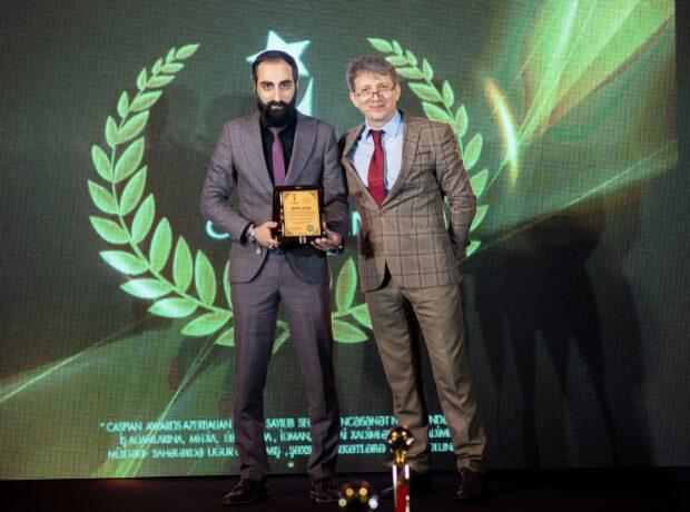 """Elşən Gəncəvi """"Caspian Awards Azerbaijan 2021"""" mükafatına layiq görülüb – FOTOLAR"""