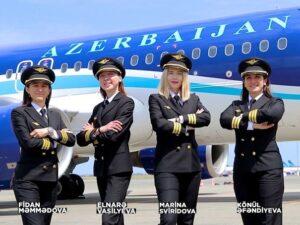 AZAL-ın ilk qadın pilotları – VİDEO