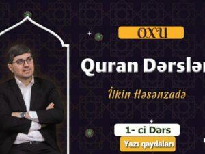Qafqaz Müsəlmanları İdarəsinin layihəsi olan yeni proqrama start verilib – VİDEO