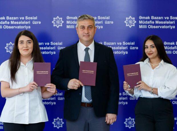 """Milli Observatoriyanın əməkdaşları """"MDB ölkələrinin demoqrafik inkişafı"""" mövzusunda təlimdə iştirak edib"""