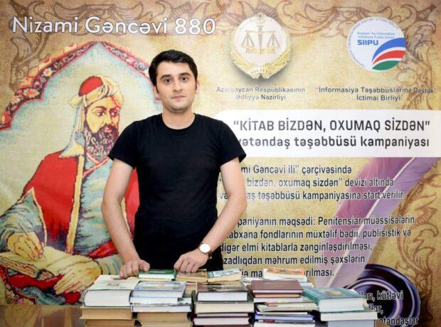 """""""Loqos"""" Psixoloji və Nitq İnkişaf Mərkəzi """"Kitab bizdən, oxumaq sizdən"""" kampaniyasına qoşulub"""