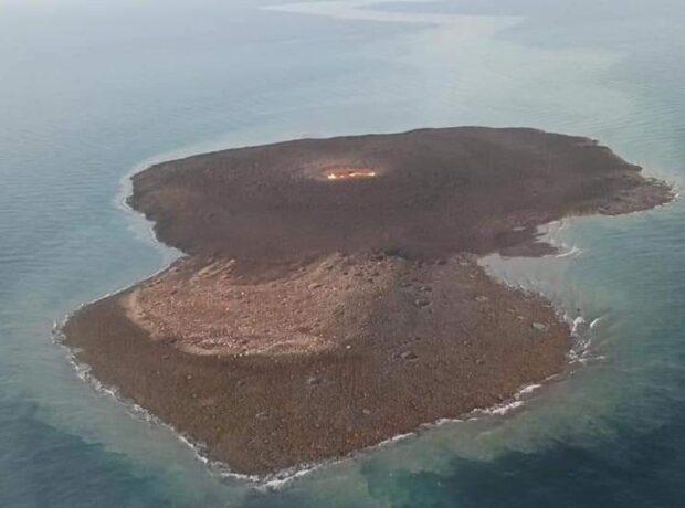 Vulkanın püskürdüyü yerdən – Video