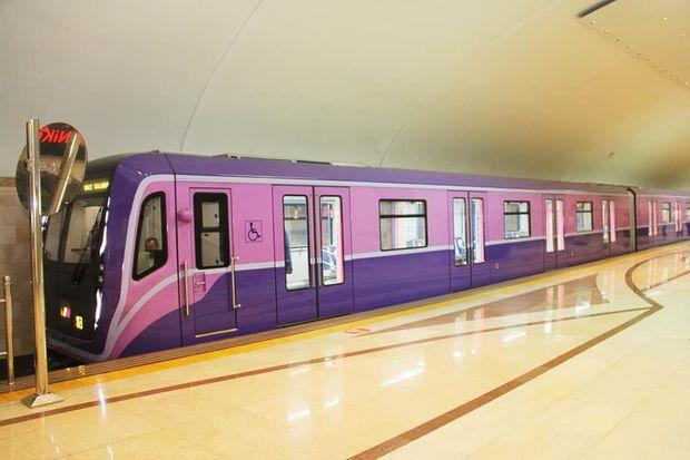 Bakı metrosunda yeni qatarlar xəttə buraxıldı