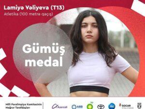 Paralimpiya Oyunları: Azərbaycan ilk gümüş medalı qazandı