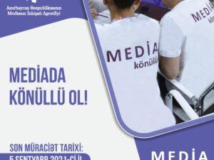 """""""Media könüllüləri"""" Proqramına start verildi"""