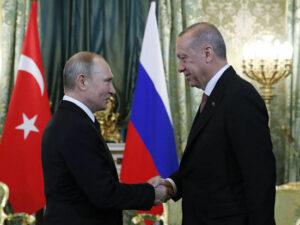 Ərdoğanla Putin Soçidə görüşdü